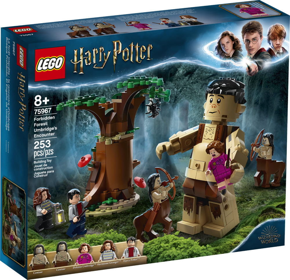 LEGO Harry Potter 75967 Forbidden Forest Umbridge's Encounter