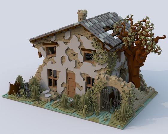 LEGO Ideas Ruined House