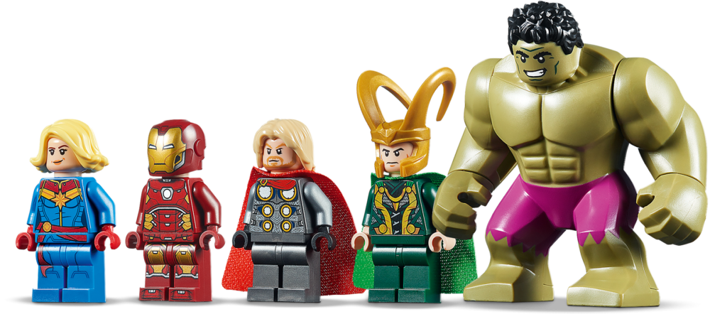 LEGO Marvel 76152 Avengers Wrath of Loki (1)