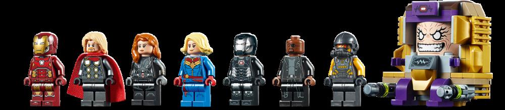 LEGO Marvel 76153 Avengers Helicarrier (3)