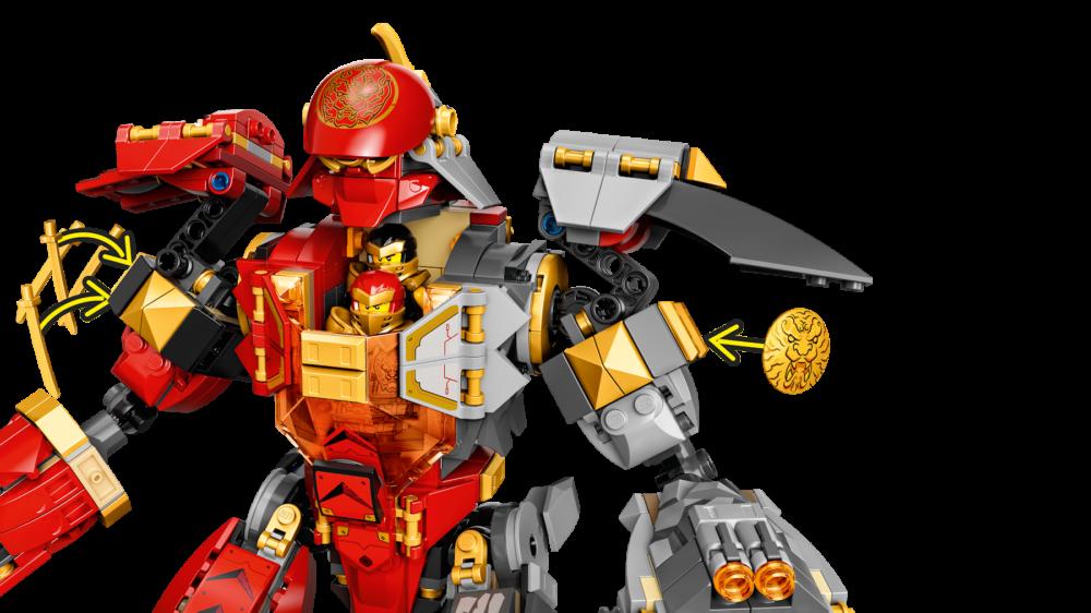 LEGO Ninjago 71720 Fire Stone Mech