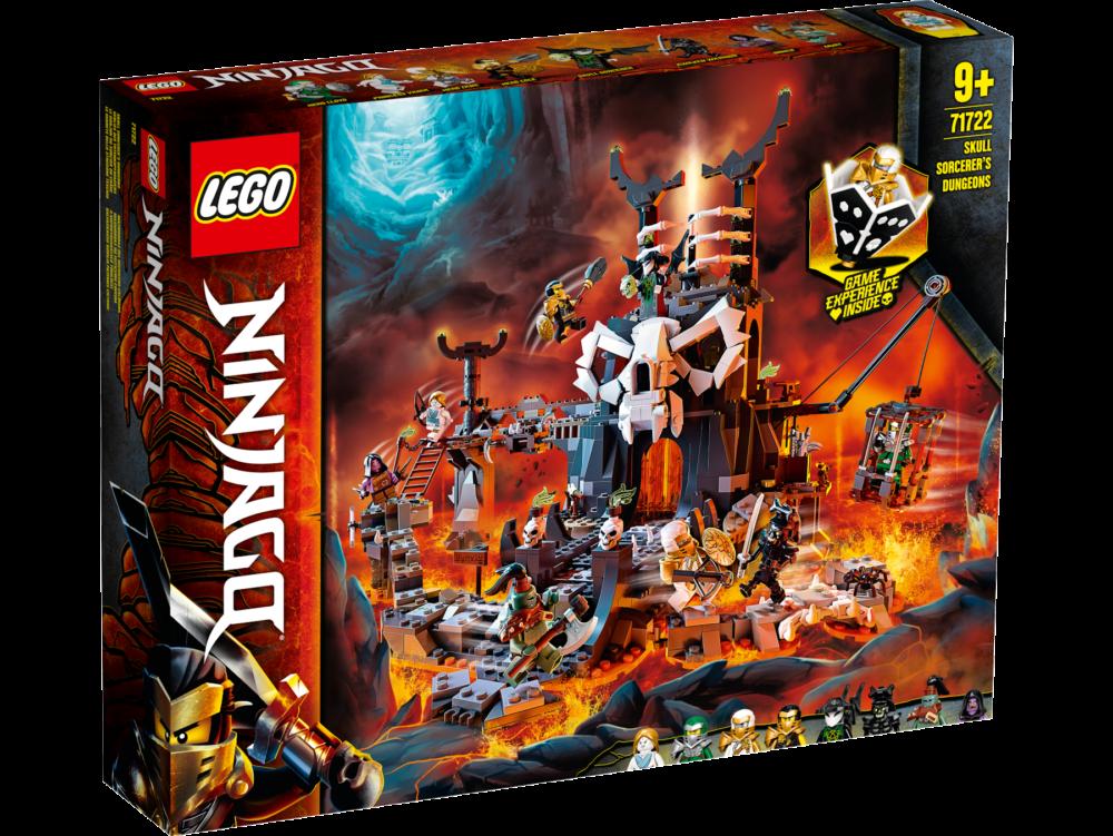 LEGO Ninjago 71722 Skull Sorcerer's Dungeon