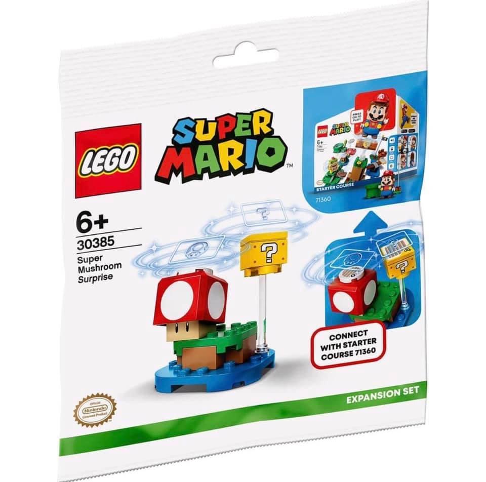 LEGO Super Mario 30385 Super Mushroom Polybag