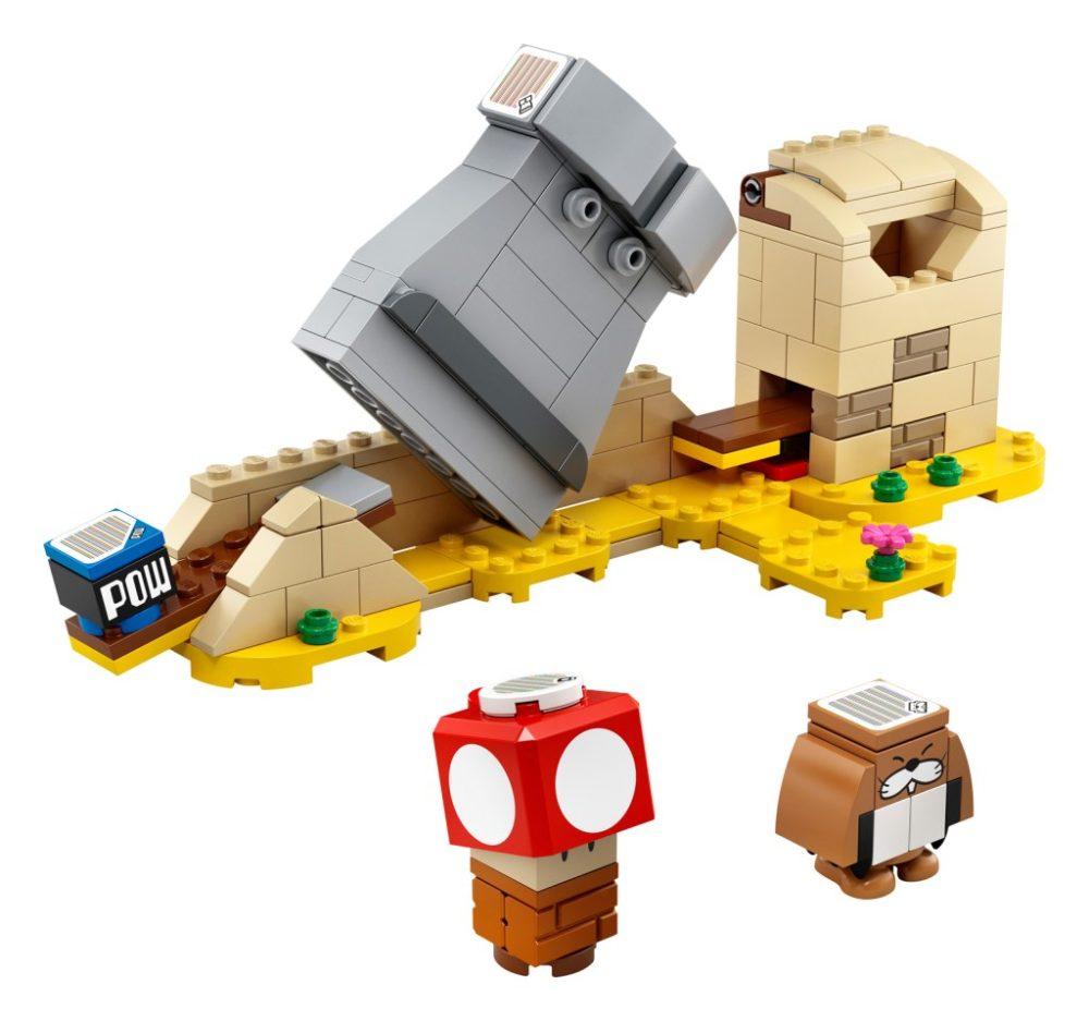 LEGO Super Mario 40414 Monty Mole & Super Mushroom Expansion Set