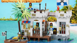 [Bouwinstructies] LEGO 6267 Lagoon Lock-Up Revisited