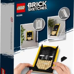LEGO Brick Sketches 40386 Batman
