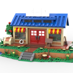 LEGO Ideas Animal Crossing New Horizons Nook's Cranny