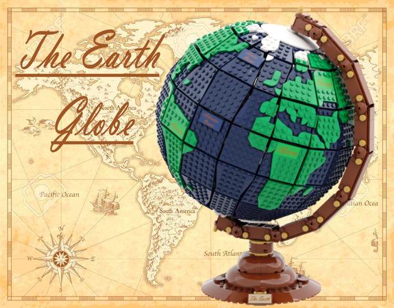 LEGO Ideas Earth Globe