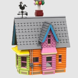 LEGO Ideas House From Up bereikt 10K supporters