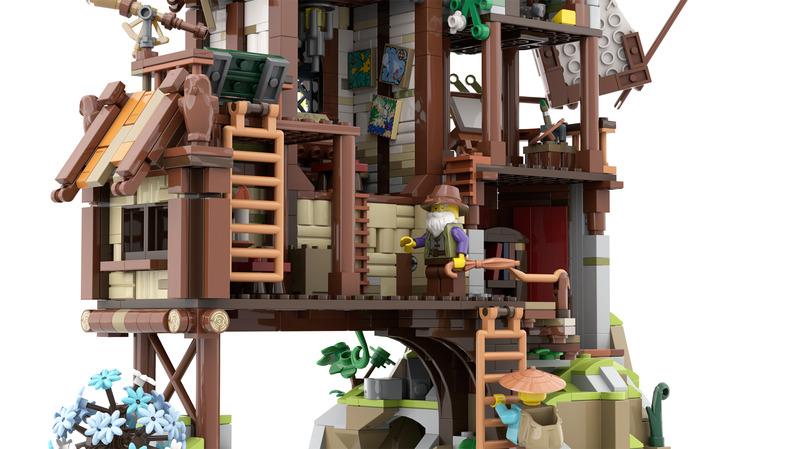 LEGO Ideas The Mountain Windmill