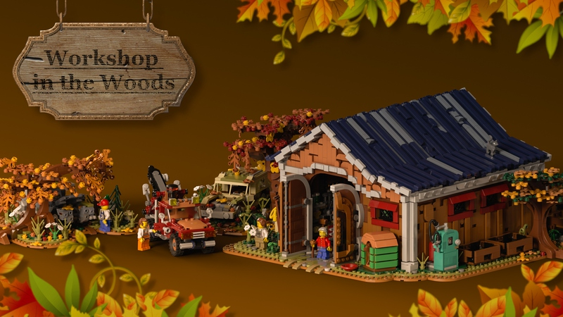 LEGO Ideas Workshop in the Woods