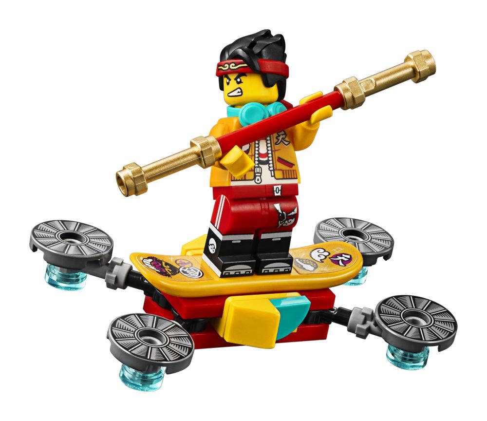 LEGO Monkie Kid 80006 White Dragon Horse Bike