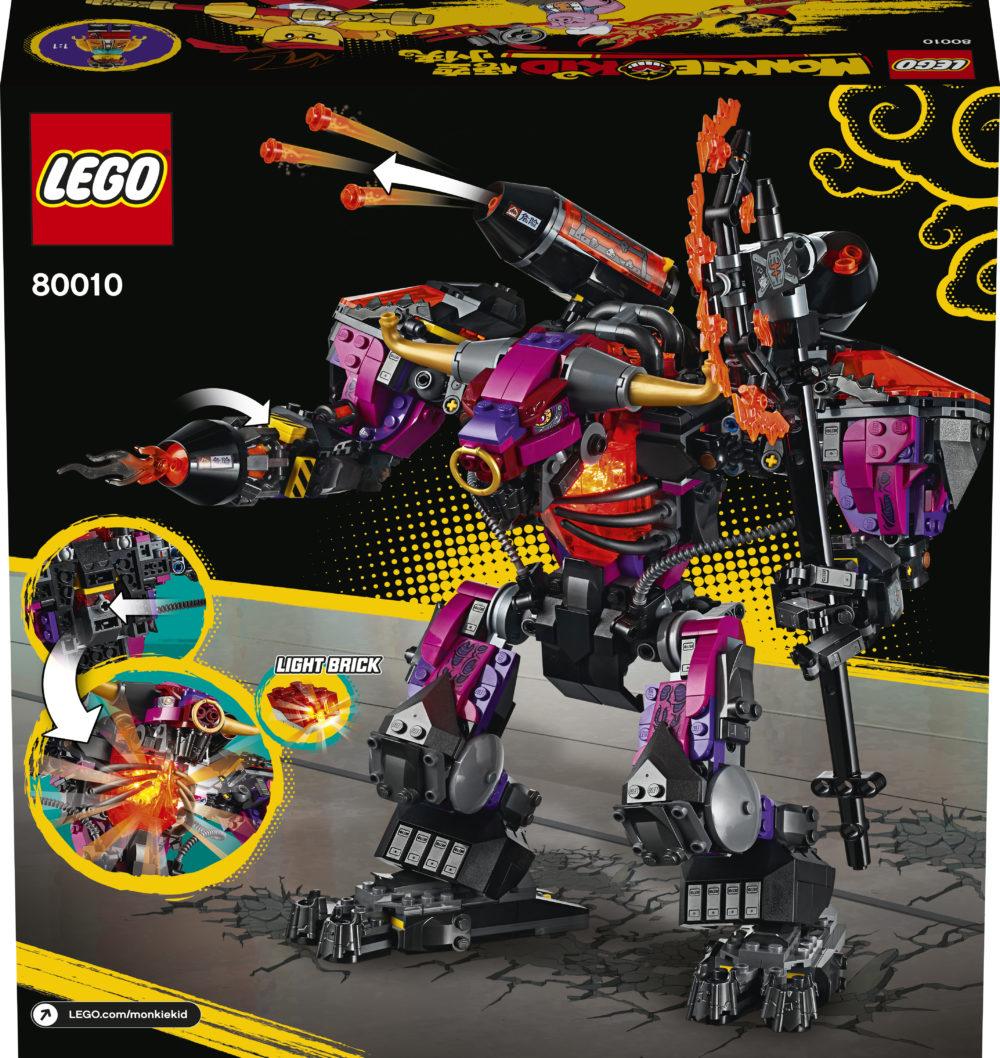 LEGO Monkie Kid 80010 Demon Bull King