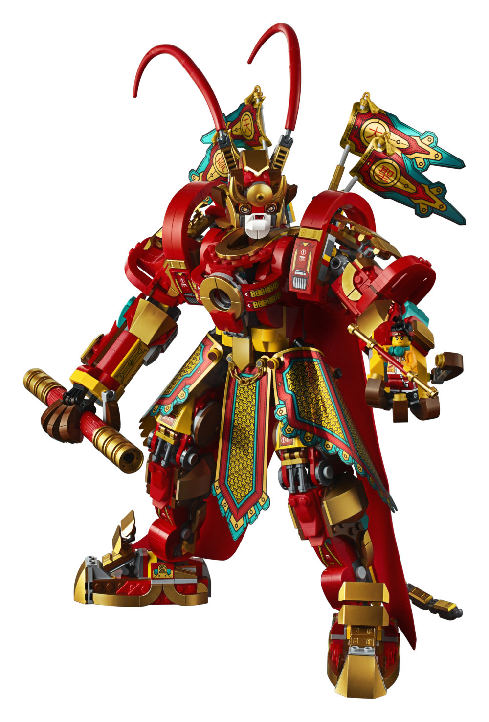 LEGO Monkie Kid 80012 Monkey King Warrior Mech