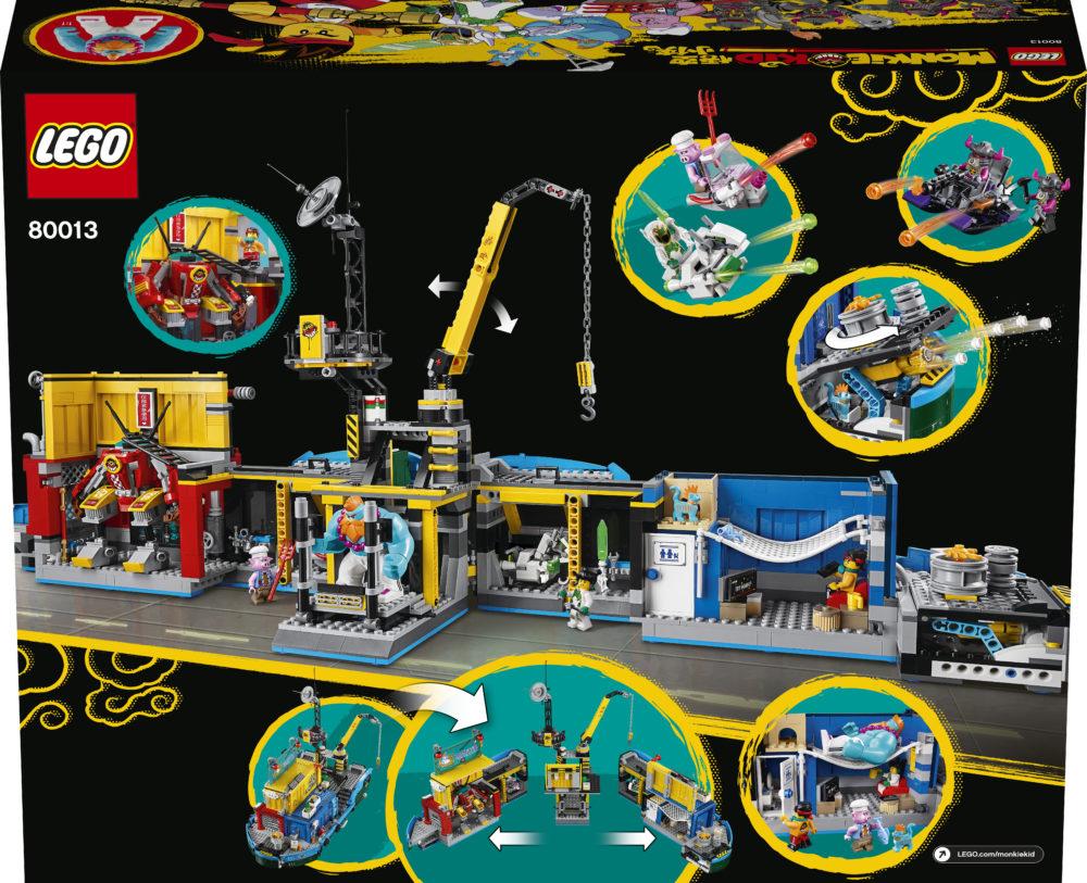 LEGO Monkie Kid 80013 Monkie Kid's Team Secret HQ