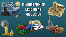 10 kunstzinnige LEGO Ideas projecten