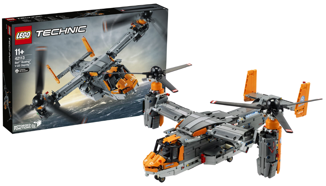 Controverse omtrent LEGO Technic Bell-Boeing Osprey