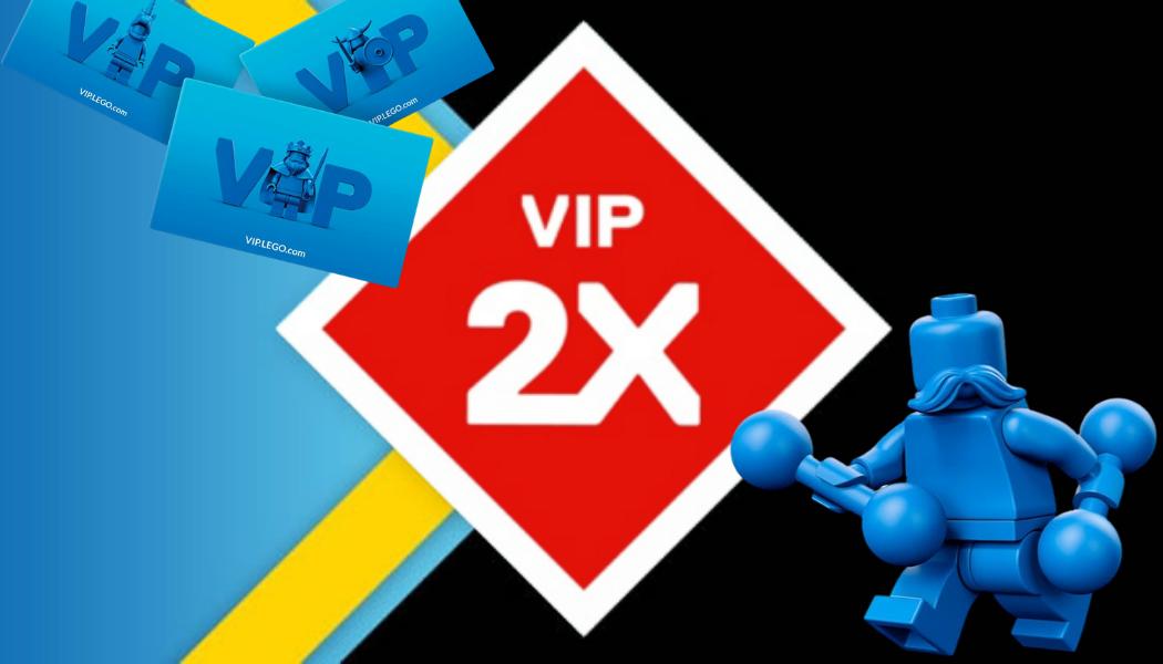 Dubbele LEGO VIP punten op alles [oktober 2020]
