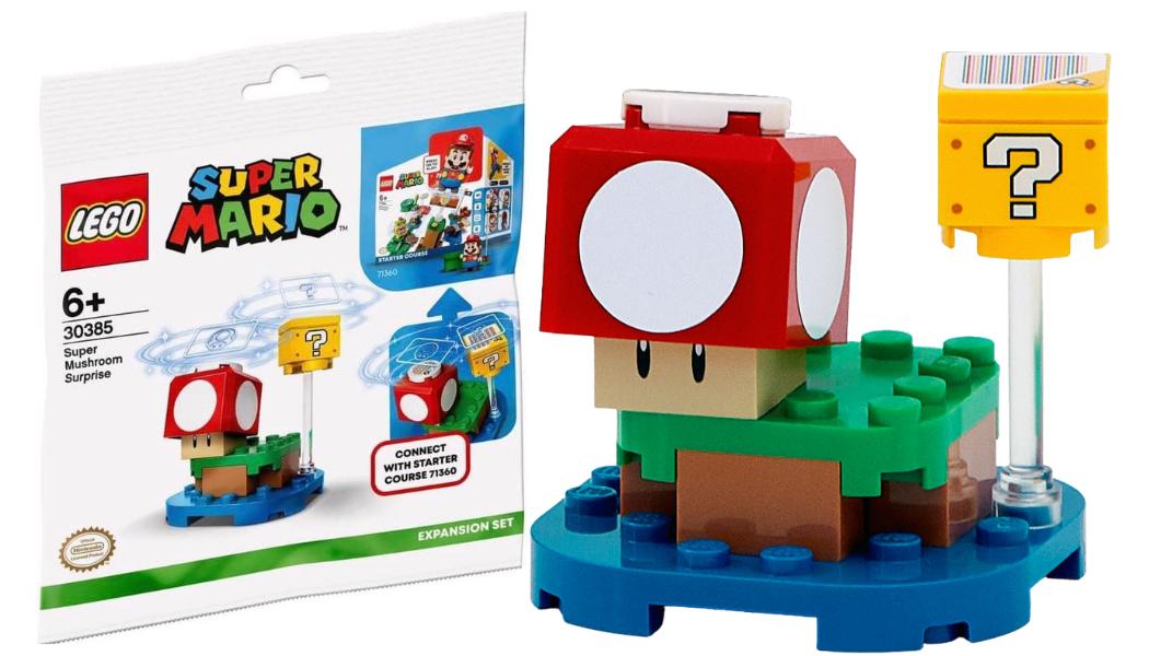 Gratis LEGO Super Mario Super 30385 Mushroom Surprise Expansion