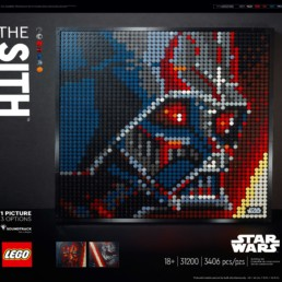LEGO Art's 31200 Star Wars The Sith