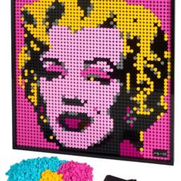 LEGO Art's 31197 Andy Warhol's Marilyn Monroe