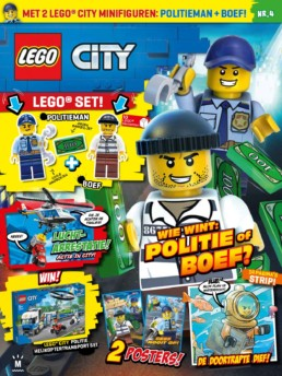 LEGO City magazine - Editie 4 (2020)