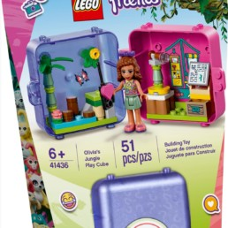 LEGO Friends 41436 Olivia's Jungle Play Cube