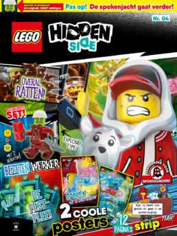 LEGO Hidden Side magazine - Editie 4 (2020)