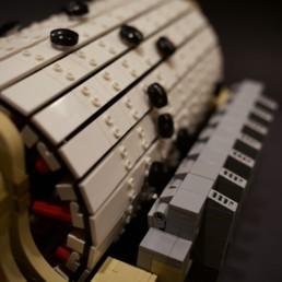 LEGO Ideas Fully Functional Music Box
