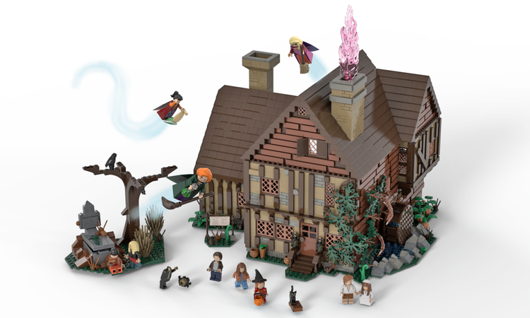 LEGO Ideas Hocus Pocus - Sanderson Sisters' Cottage