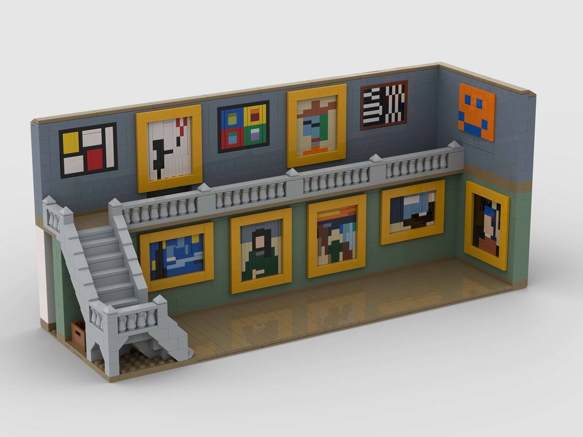 LEGO Ideas Pixel Art Gallery