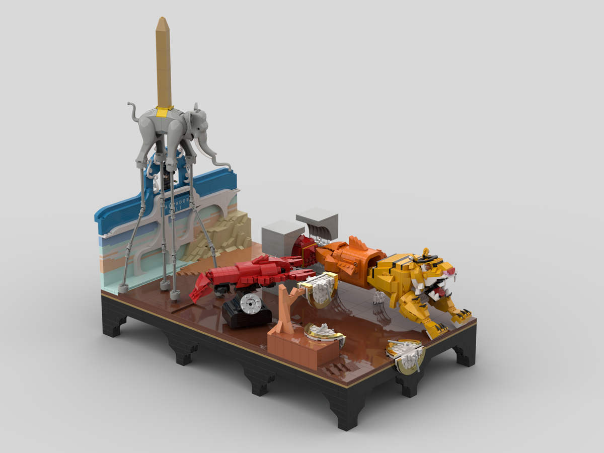 LEGO Ideas Salvador Dalì Tribute