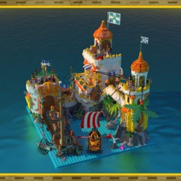 LEGO Ideas Seagull Bay