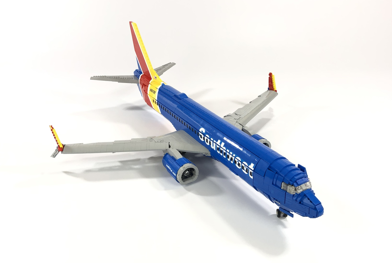 LEGO Ideas Southwest 737-800