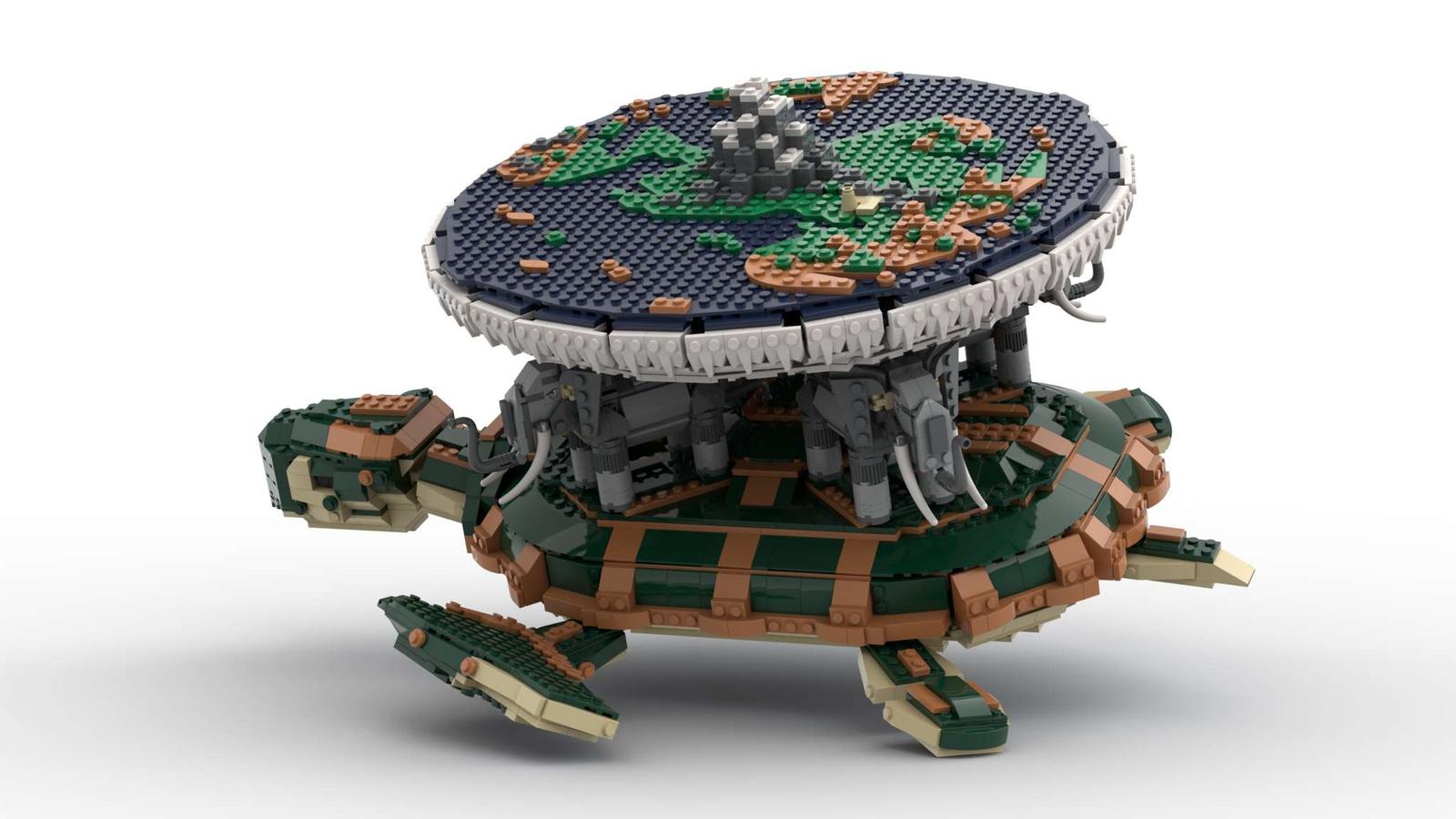 LEGO Ideas Terry Pratchett's Discworld