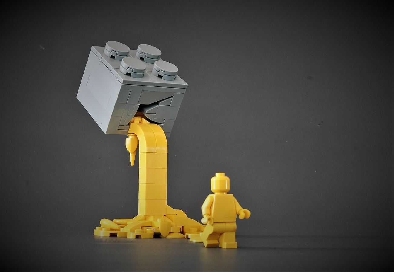 LEGO Ideas The Melting Brick