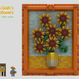 LEGO Ideas Van Gogh's Sunflowers