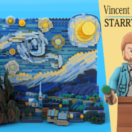LEGO Ideas Vincent van Gogh - The Starry Night