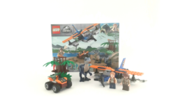 LEGO Jurassic World 75942 Velociraptor Biplane Rescue Mission (1)