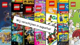 LEGO Magazines en boeken augustus 2020