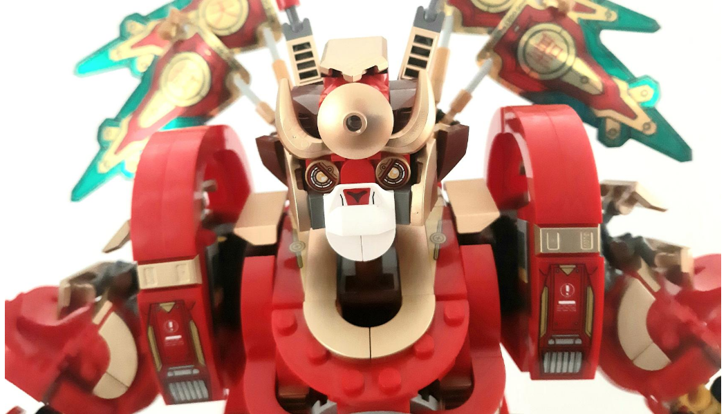 LEGO Monkie Kid 80012 Monkey King Warrior Mech
