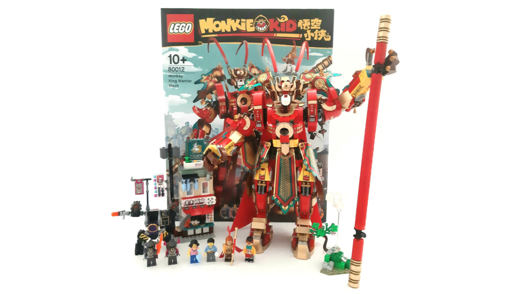 Monkie Kid 80012 Monkey King Warrior Mech