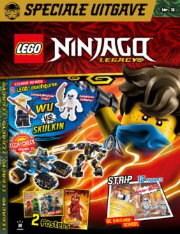 LEGO Ninjago Legacy Magazine - editie 3 (2020)
