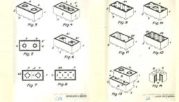 LEGO Patent 28 januari 1958 door Godtfred Kirk Christansen