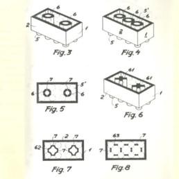 LEGO Patent 28 januari 1958 door Godtfred Kirk Christansen blad 1