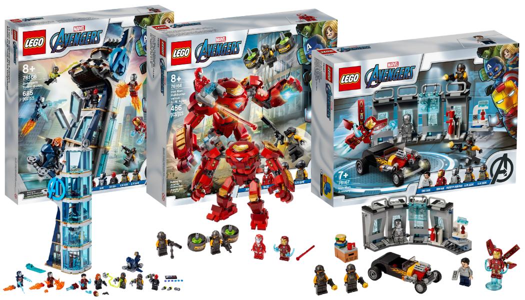 Nieuwe LEGO Marvel Avengers sets