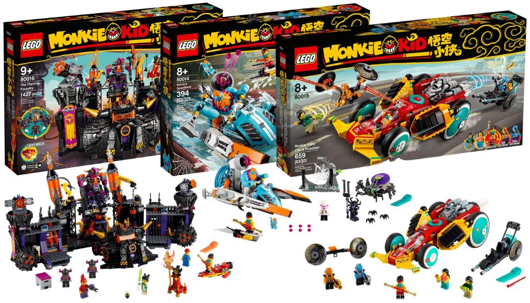 Nieuwe LEGO Monkie Kid sets
