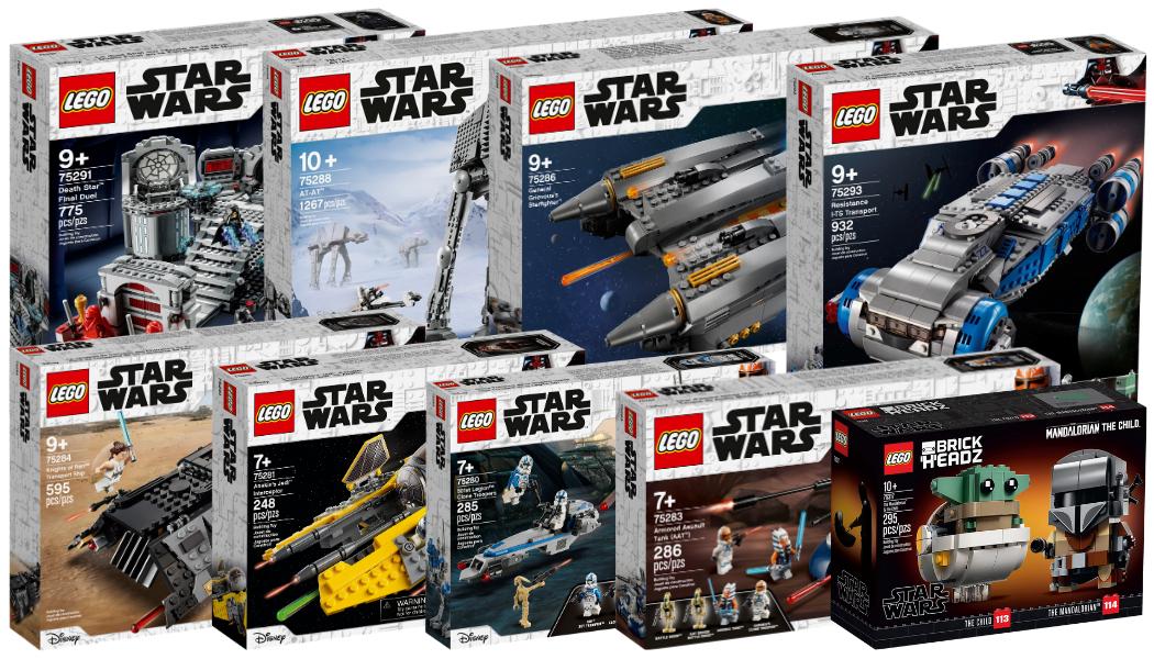 Nieuwe LEGO Star Wars sets