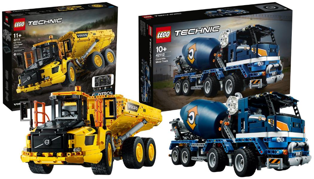 Nieuwe LEGO Technic sets