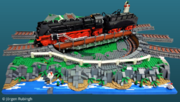 LEGO draaiplateau - Jörgen Rubingh